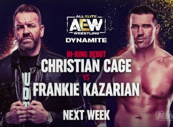 Christian Cage's AEW In-Ring Debut Set For Next Week