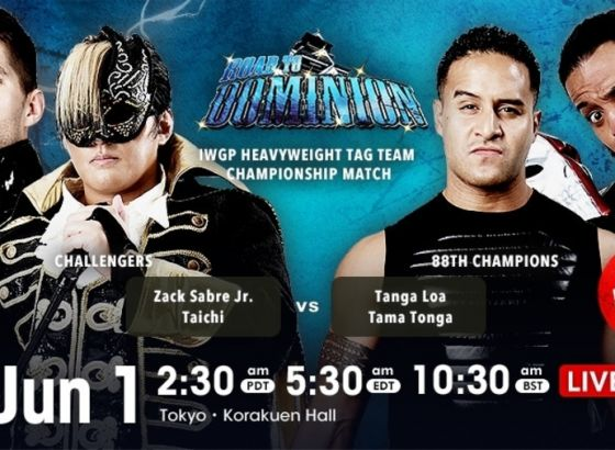 New IWGP Heavyweight Tag Team Champions Crowned At NJPW Road To Dominion