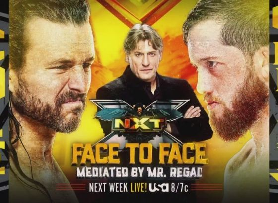 Adam Cole, Kyle O'Reilly Face-To-Face & More Set For WWE NXT