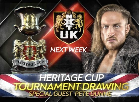 Pete Dunne Returning To WWE TV Next Week
