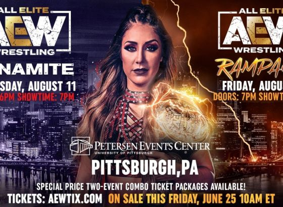 AEW Heading To Pittsburgh For Rampage Debut