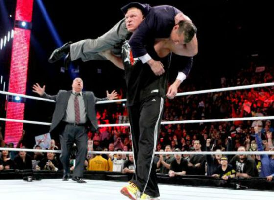 Jim Ross Recalls The First Time Vince McMahon Met Brock Lesnar In WWE