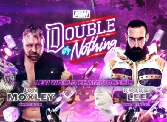 Jon Moxley Vs. Brodie Lee, Two Other Matches Added To AEW Double Or Nothing