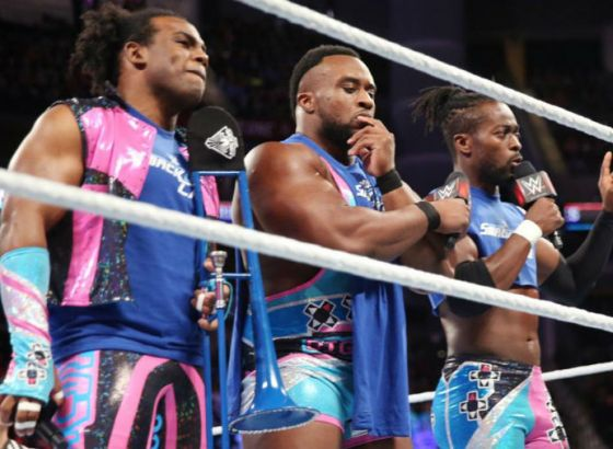 WWE SmackDown Tag Team Champions The New Day Reveal Their Dream Matches