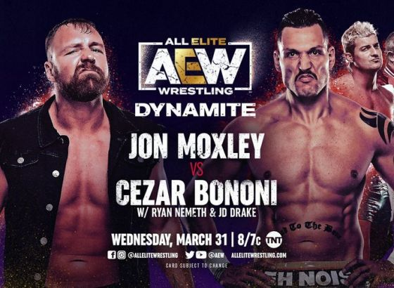 Jon Moxley Competing On March 31 AEW: Dynamite
