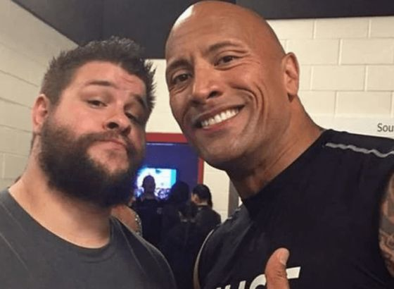 The Rock Names Kevin Owens & Adam Cole As 'Two Of The Best' in Wrestling