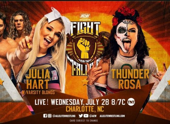 Thunder Rosa Match Added To AEW Fight For The Fallen
