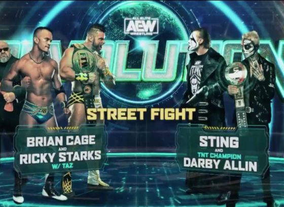 Sting And Darby Allin Vs. Brian Cage And Ricky Starks Confirmed For AEW Revolution