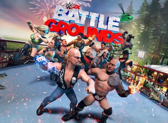 WWE 2K Battlegrounds Released Today
