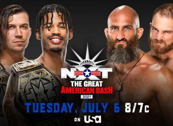 Tag Team Championship Match Set For WWE NXT The Great American Bash 2021