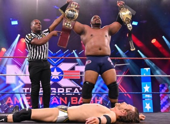 Keith Lee Asks Fans Not To Give Up on Him On Anniversary Of WWE NXT Championship Victory