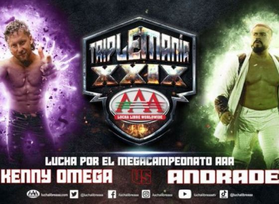 Kenny Omega Vs. Andrade Confirmed For TripleMania