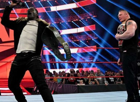 R-Truth Says He Was Challenged To Make Brock Lesnar Laugh