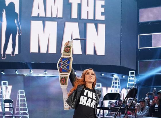 Report: Original Plans For WWE Star Becky Lynch's Truck Revealed