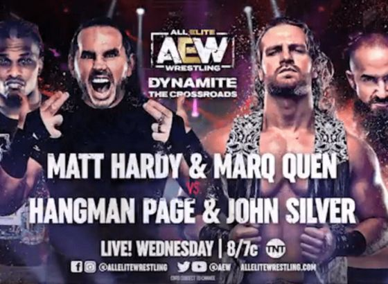Updated AEW: Dynamite Crossroads Card