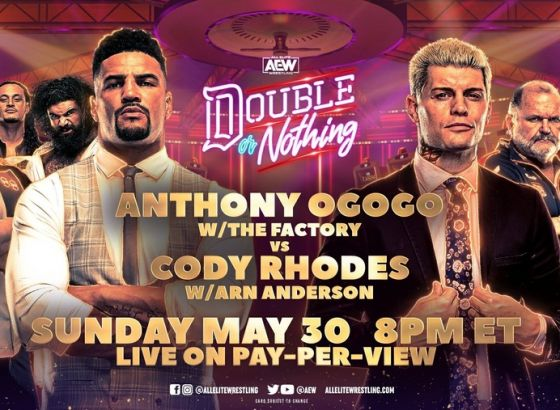 Cody Rhodes To Wrestle As 'The American Dream' At AEW Double Or Nothing