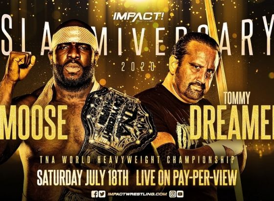 Moose To Defend TNA World Heavyweight Championship At IMPACT Wrestling Slammiversary 2020