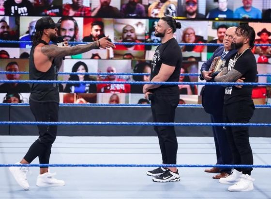 """""""It's Not A Story, That's Really Them"""" - Rikishi Comments On Roman Reigns & The Usos Storyline On WWE SmackDown"""