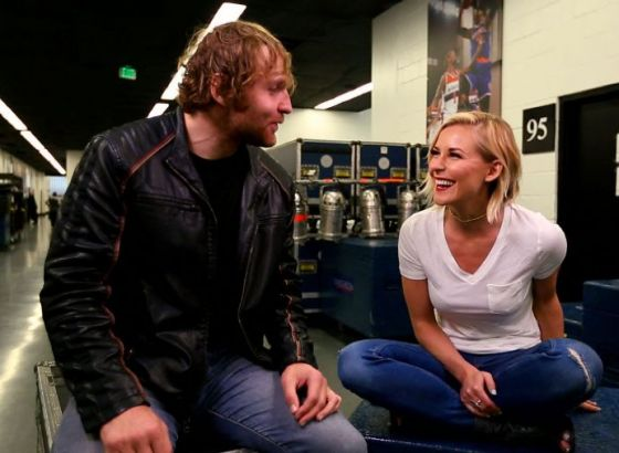 Jon Moxley And Renee Paquette Are Expecting Their First Child