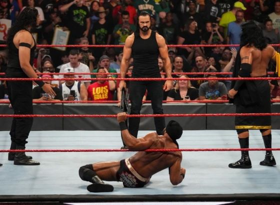 Mick Foley Critical Of Drew McIntyre's Chair Shots On WWE Raw