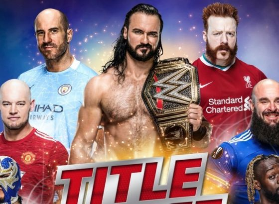 WWE's Cesaro backs Manchester City to win the Premier League