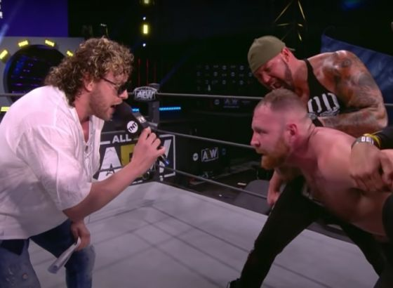 Report: AEW's Kenny Omega Pitched Exploding Barbed Wire Deathmatch In 2019