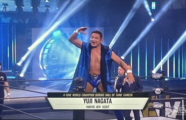 Yuji Nagata Talks About His AEW Experience