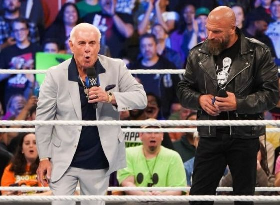 Ric Flair Reveals The Gift Triple H Gave Him After His Son's Passing