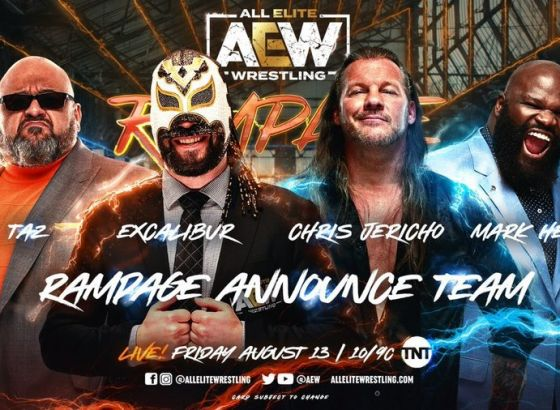 AEW Reveals Rampage Announce Team