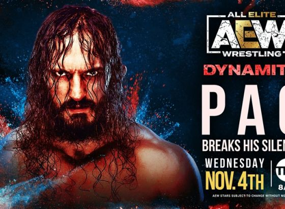 PAC Returning To AEW: Dynamite Next Week