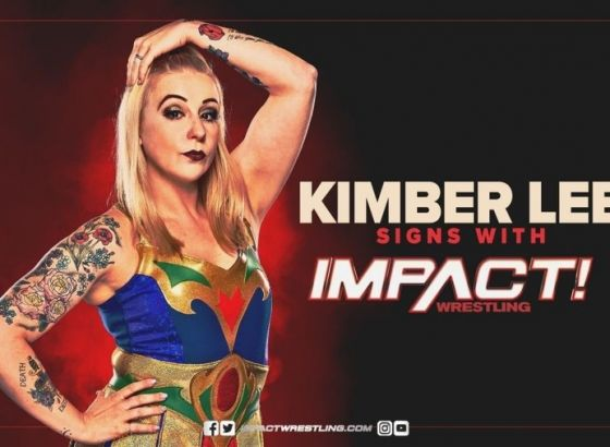 Kimber Lee Signs With IMPACT Wrestling