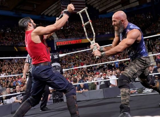 Tommaso Ciampa Reveals How WWE Hall Of Famer Edge Helped NXT Rivalry With Johnny Gargano