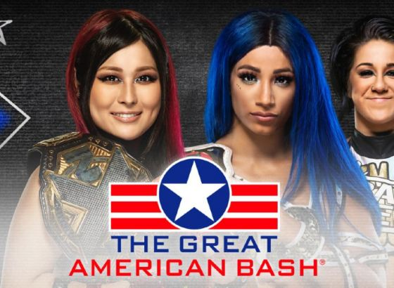 Io Shirai Vs. Sasha Banks Added To NXT Great American Bash