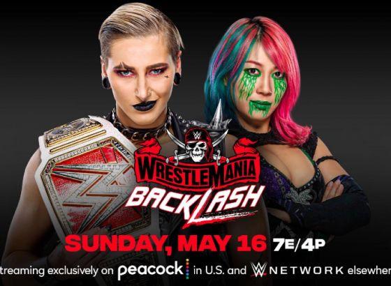 Rhea Ripley Vs. Asuka Added To WWE WrestleMania Backlash