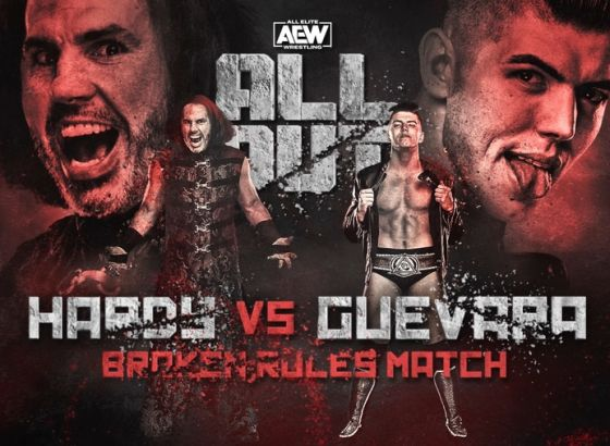 Matt Hardy vs. Sammy Guevara In A Broken Rules Match Added To AEW All Out 2020 Card