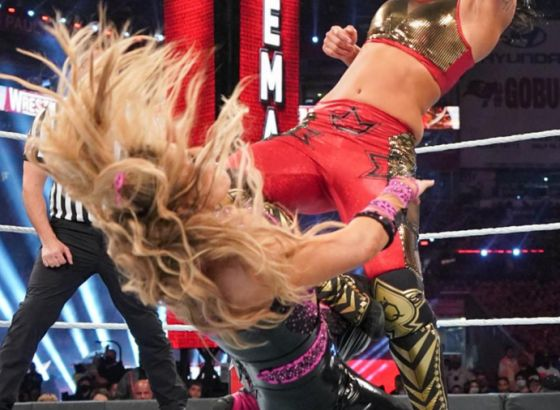 Natalya Suffered Lip Injury During WWE WrestleMania 37
