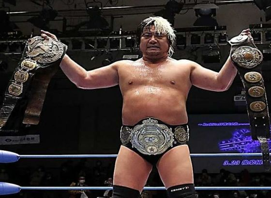 AJPW's Suwama Tests Positive For Covid-19, Vacates Triple Crown