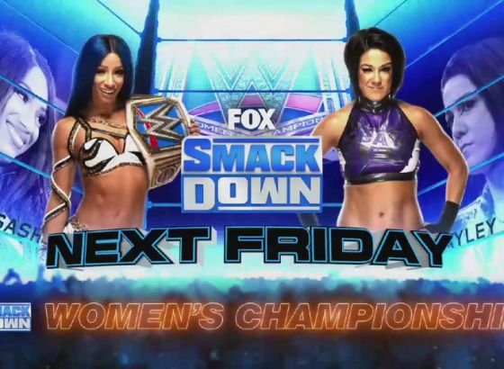 Sasha Banks/Bayley Rematch Scheduled For Next Week's WWE SmackDown