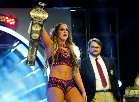 AEW's Britt Baker Wants To Face WWE's Sasha Banks Or Bayley In Dream Match