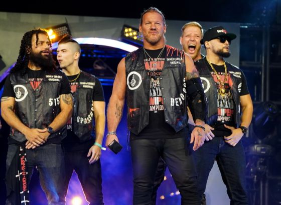 """Chris Jericho Pitched For The Inner Circle To """"Respectfully Disband"""" In AEW"""