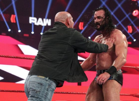 Report: Timing Issues Affected Goldberg-Drew McIntyre Segment On WWE Raw