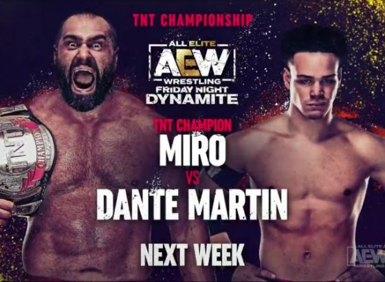 Miro's First TNT Title Defence Set For Next Week's AEW Dynamite