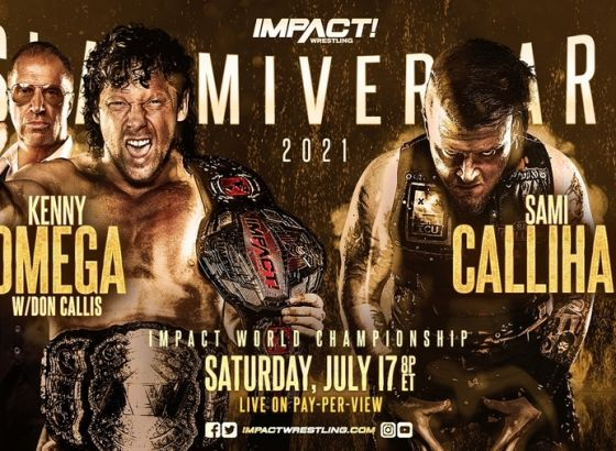 IMPACT World Title Match Confirmed For Slammiversary 2021