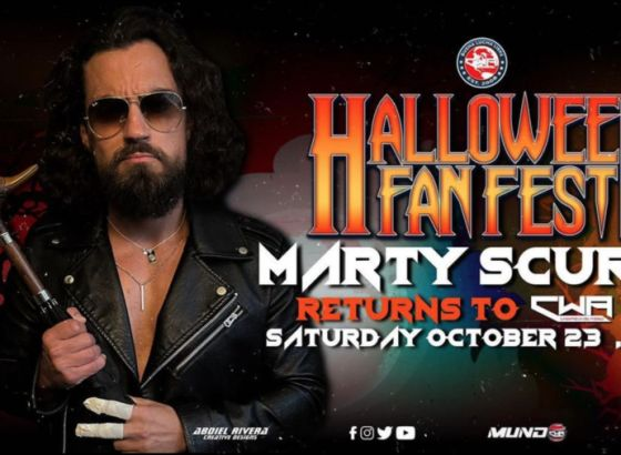 Marty Scurll Announced For Independent Wrestling Event