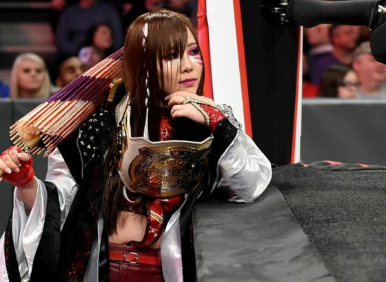 Kairi Sane Removed From Advertising For Monday's WWE Raw