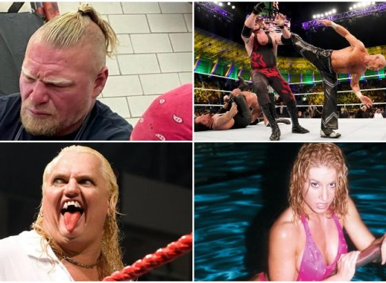 Bearded Brock Is Back & Sunny's Search For Sexy Co-Stars: Ten Things You May Have Missed In Wrestling This Week