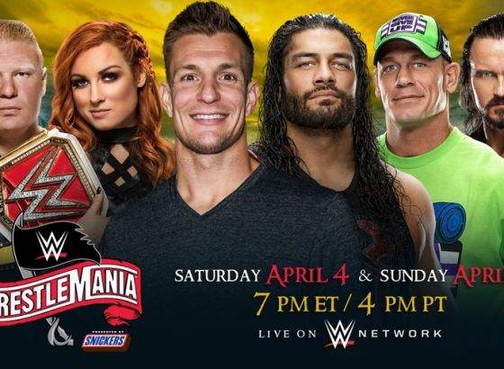 Live Results For WWE WrestleMania 36 Night One