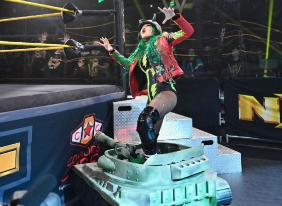 "Shotzi Blackheart Thought RETRIBUTION's Unveiling On WWE Raw Was ""Pretty Badass"""