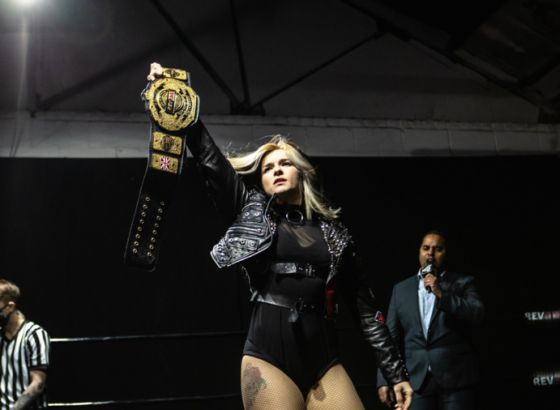 RevPro Undisputed British Women's Title Vacated Due To WWE Tryouts