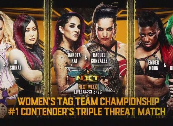 NXT Women's Tag Titles Number One Contender's Bout Set For June 29 NXT